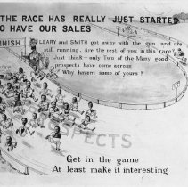 Image of Poster  The Big Race  Sales Incentive