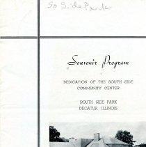 Image of 1997.29.1 - Program