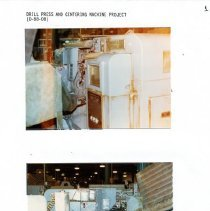 Image of Capital Budget Study page 16   Drill Press & Centering Machine project