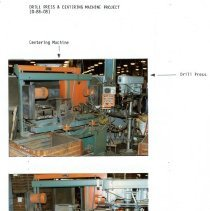 Image of Capital Budget Study page 18  Drill Press & Centering Machine Project