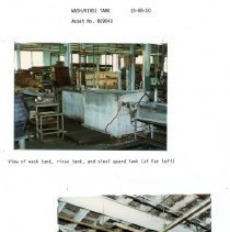 Image of Capital Budget Study page 20  Wash and Rinse Tank