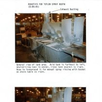 Image of Captial Budget Study page 9  Teflon Spray Booth