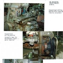 Image of Capital Budget Study  Page 1   Milling Machine & single spindle drill
