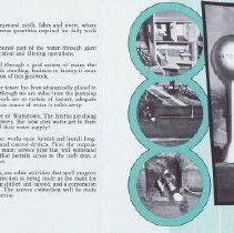 Image of Booklet Watertown USA  interior  left side