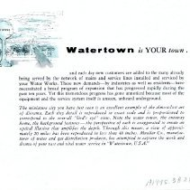 Image of Watertown USA  back cover