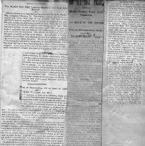 Image of 2001.31.3 - Ad, Newspaper
