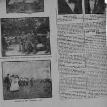 Image of Newspaper Clipping circa 1918  (back)