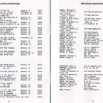 Image of Directory of Retirees 1988  pages 22 & 23