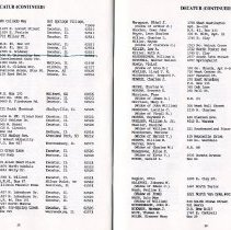 Image of Directory of Retirees  1988  pages 28 & 29