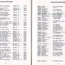 Image of Directory of Retirees  1988  pages 32 & 33