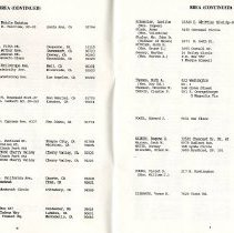 Image of Directory of Retirees 1988  pages 4 & 5