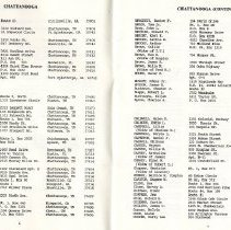 Image of Directory of Retirees  1988  pages 6 & 7