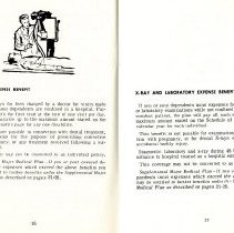 Image of Group Benefits 1977  pages 16 & 17