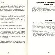 Image of Group Benefits 1977  pages 20 & 21