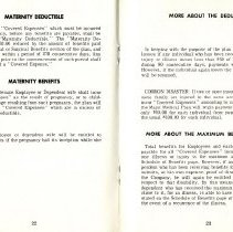 Image of Group Benefits 1977  pages 22 & 23