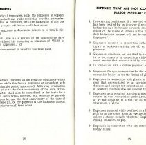 Image of Group Benefits 1977  pages 26 & 27