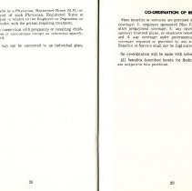 Image of Group Benefits 1977  pages 28 & 29