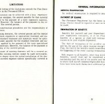 Image of Group Benefits 1977  pages 36 & 37