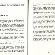 Image of Group Benefits 1977  pages 42 & 43