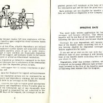 Image of Group Benefits 1977  pages 4 & 5