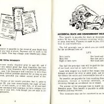 Image of Group Benefits 1977  pages 6 & 7