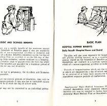 Image of Group Benefits 1977  pages 8 & 9