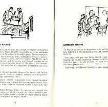 Image of Group Benefits 1977  pages 10 & 11