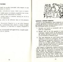 Image of Group Benefits 1977  pages 12 & 13