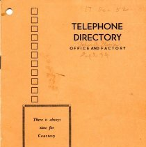 Image of 2002.2.8a - Directory, Telephone