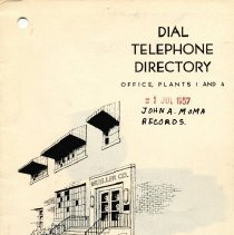 Image of 2002.2.8g - Directory, Telephone