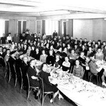 Image of Mueller Women Employees at a Banquet