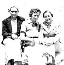 Image of Margaret Behrends and 2 other women