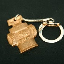 Image of novelty - Mueller Co. key ring in shape of fire hydrant
