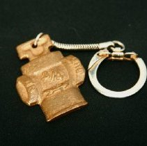 Image of Chain, key - Mueller Co. key chain with fire hydrant