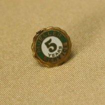 Image of Employee 5 Year Pin