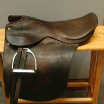 Image of Jane Mueller's English Saddle