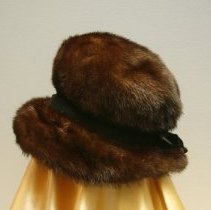 Image of Brown Mink Hat    Jane Mueller