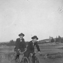 Image of Turrentine boys on bikes