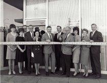 Image of ribbon cutting at Roberts, Scott & Co.
