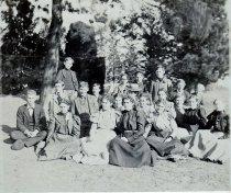 Image of Senior Class in 1901
