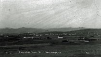 Image of View of Escondido from the the west