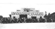 Image of Escondido Garage, ca. 1915