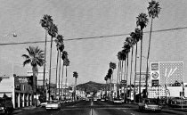 Image of Grand Ave and palm trees
