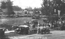 Image of Grape Day - Autos in the Park; September 9, 1913