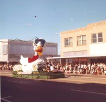 Image of Christmas Parade-Mother Goose float