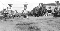 Image of Grape Day; Grand east of Broadway