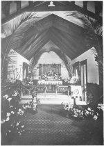 Image of Interior of Trinity Episcopal During Easter Celebrations
