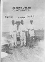 Image of Dog Boys at Darrington Prison