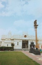 Image of Front view of Hindu Temple in