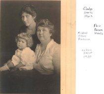 Image of Gladys Wertz Clark & family